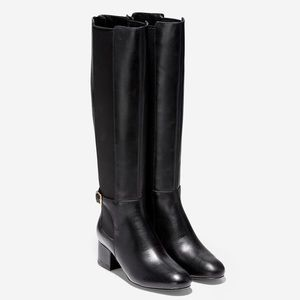 New Size 8 Cole Haan Knee High Black Boots